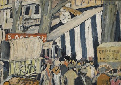 Joaquín Torres-García, 'Entoldado (La Feria) (Canopy [The fair])', 1917