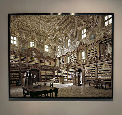 Massimo Listri | World Libraries | Grand Interiors Photography, installation view