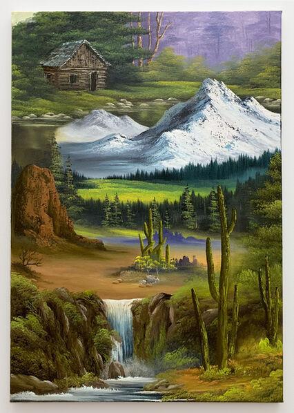 Neil Raitt, 'Evergreen Valley (Fold Down)', 2020