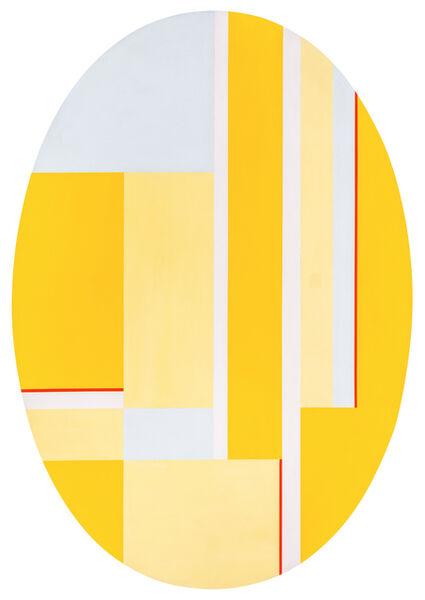 Ilya Bolotowsky, 'Ellipse with Yellows', 1977