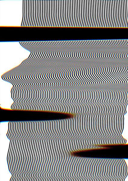 Carsten Nicolai, 'scan distortion 3', 2016