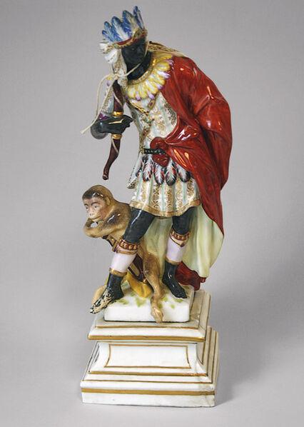 Berlin Porcelain Factory, 'Africa', 1769-1770