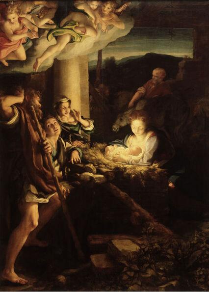 Correggio, 'Nativity', 1522/30