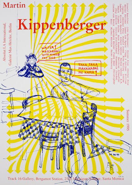 Martin Kippenberger, 'L.A. International with Galerie Max Hetzler', 1995-1996