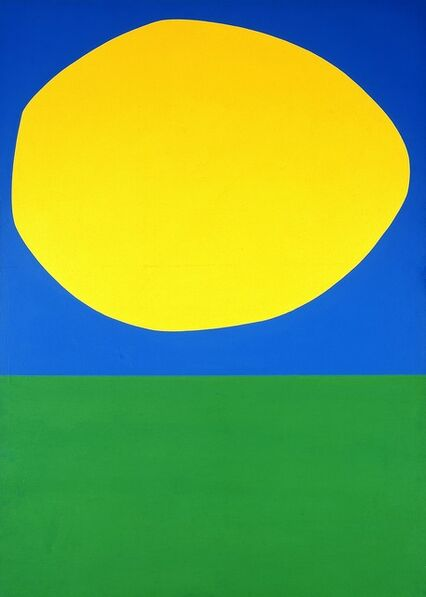 Ellsworth Kelly, 'High Yellow', 1960