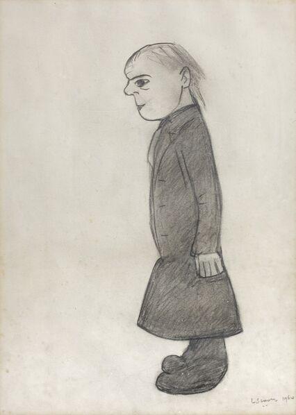 Laurence Stephen Lowry, 'Figure', 1964