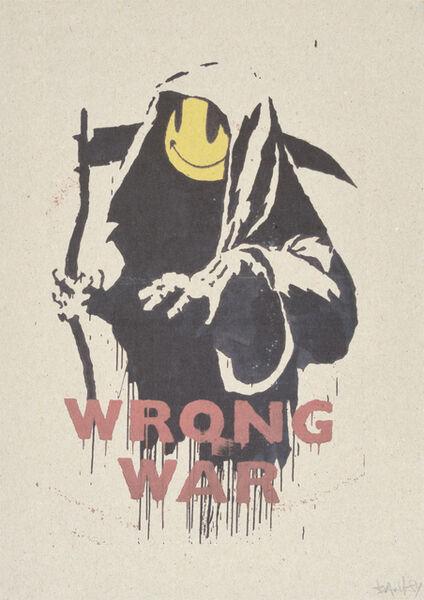 Banksy, 'WRONG WAR et PAX BRITANNICA : A HELLISH PEACE (A SET OF TWENTY-TWO PRINTS)'