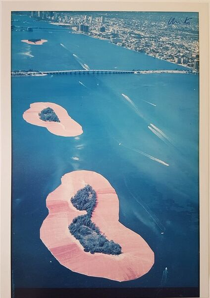 Christo and Jeanne-Claude, 'Surrounded Islands, Biscayne Bay, Greater Miami, Florida', 1980-1983