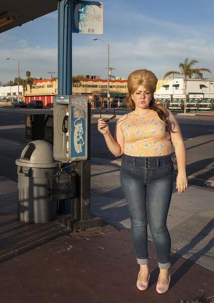 Genevieve Gaignard, 'Phone Booth', 2016