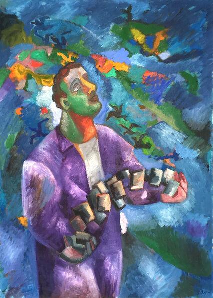 Sandro Chia, 'Il giocoliere', 1999