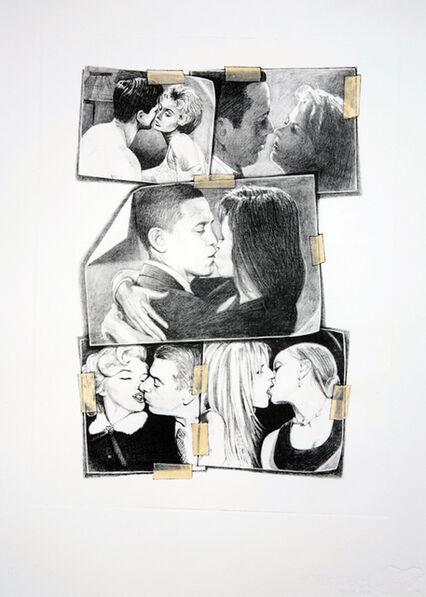 Jonathan Santlofer, 'Kiss (Couples)', 2009