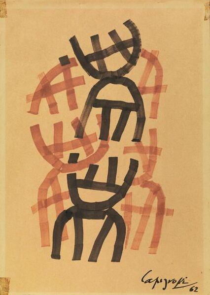 Giuseppe Capogrossi, 'Superficie CP/939', 1962