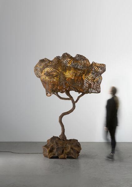 Nacho Carbonell, 'Orange Cortex Tree (151_2019)', 2019