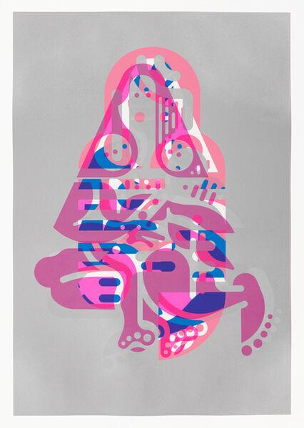 Ryan McGinness, 'Mother & Child (Monoprint #19)', 2015