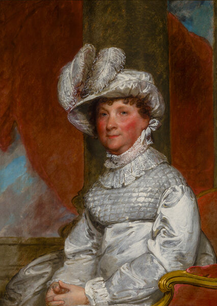 Gilbert Stuart, 'Portrait of Ann Otis Smith', 1809-1818
