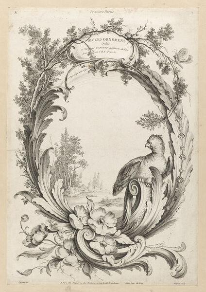 Alexis Peyrotte, 'Premiere Partie Diverse Ornemens', 1740
