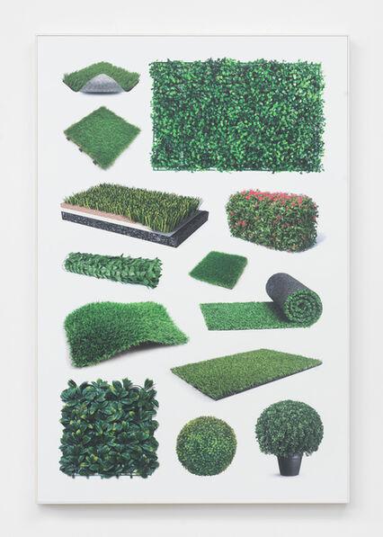 Jeff Gibson, 'Untitled (fake greenery II)', 2018