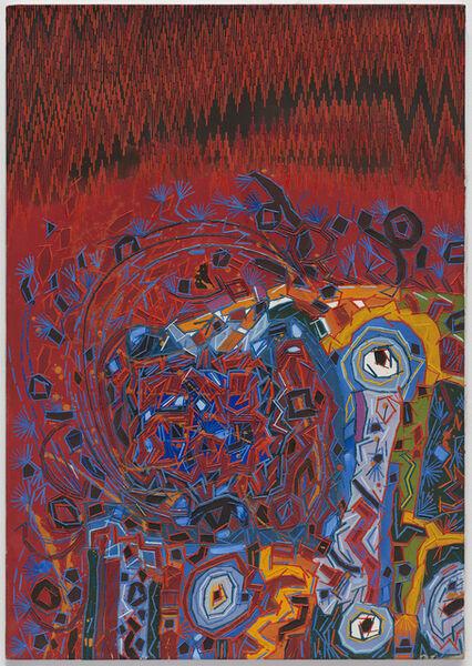 Lee Mullican, 'Untitled ', 1966