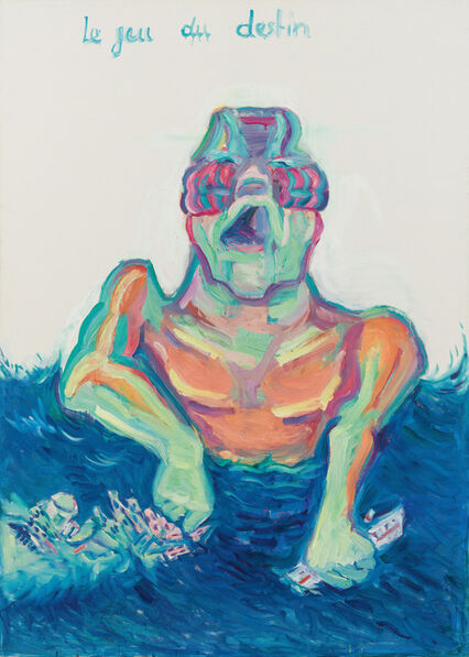 Maria Lassnig, 'Le Jeu du Destin (The game of destiny)', 1999