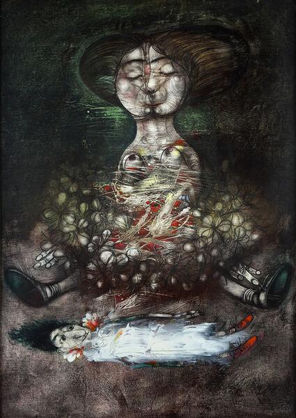 Pedro Pablo Oliva, 'Estudio para una Maternidad ', 2000
