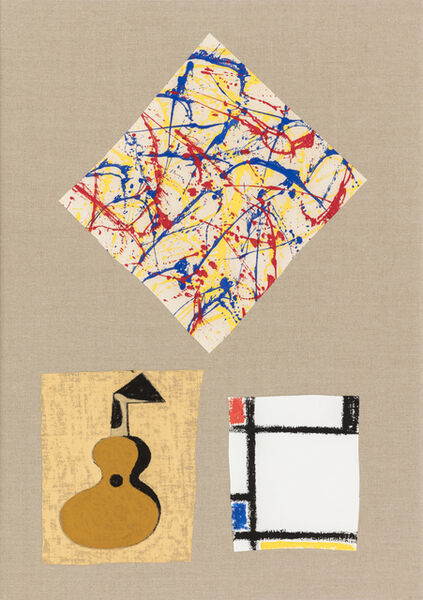 Zander Blom, 'Composition with Guitar', 2018