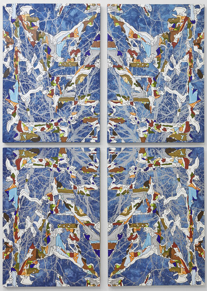 J Ivcevich, 'Untitled (Silver Tree Mandala)', 2018