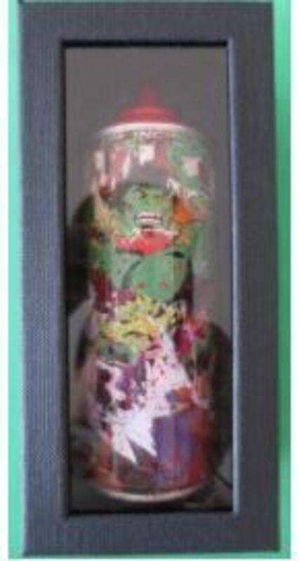 Mr. Brainwash, 'HULK', ca. 2020, Sculpture, Spray Can, AYNAC Gallery
