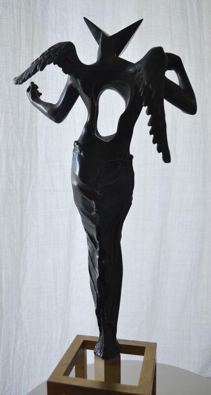 Salvador Dalí, 'Surrealist Angel (Rudolf Rom Edition)', 1983, Sculpture, Bronze Edition of #627/1500 examples, Robin Rile Fine Art
