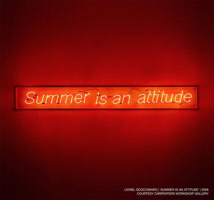 Summer is an Attitude at Selfridges London, installation view