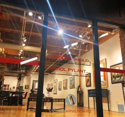Carol Pylant:  Into the Ulterior & Christina Haglid:  Tiny Sanctuaries, installation view