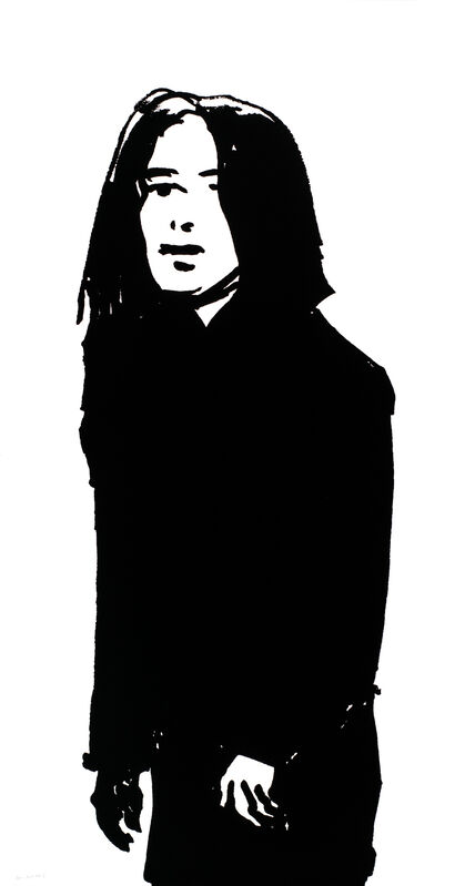 Alex Katz, 'Shopper #8', 2015, Print, 1-color silkscreen on Saunders Waterford 425 gsm paper, Haw Contemporary