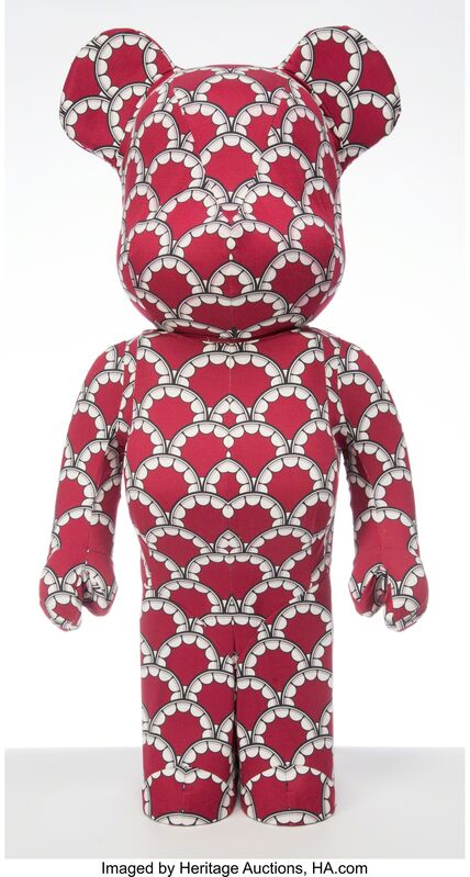 KAWS, 'BBWW Tour BE@RBRICK 1000%', 2012, Other, Painted cast vinyl and fabric, Heritage Auctions