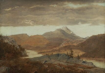 Alexander Helwig Wyant, 'Mountain Vista', Mid 19th century