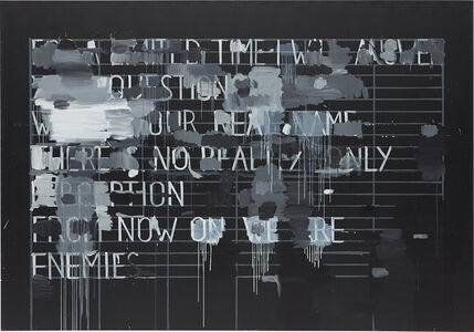 Christian Vetter, 'Sentences (Questions and Answers)', 2010