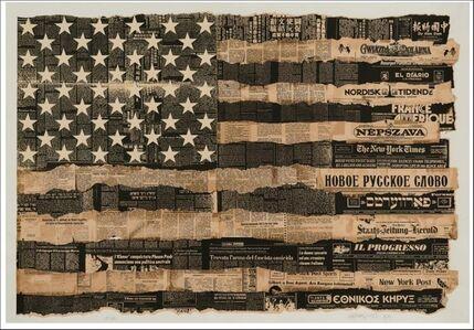 Massimo Vignelli, 'Melting Pot Flag (America the Melting Pot)', 1976-1989