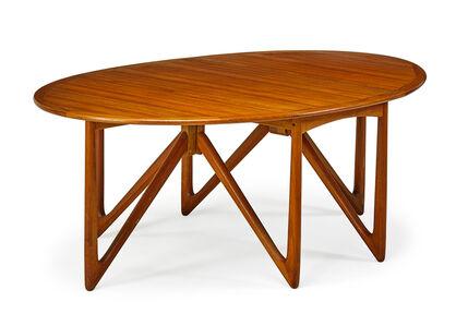 Koefoeds Hornslet, 'Drop-leaf dining table, Denmark'