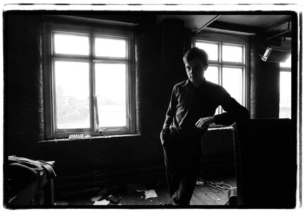 Kevin Cummins, '2. Ian Curtis, Joy Division. TJ Davidson rehearsal room, Little Peter Street, Manchester, 19 August 1979', 2006