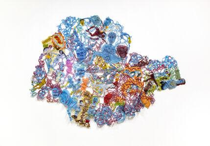 Joyce J. Scott, 'Blue Baby Book Redux'