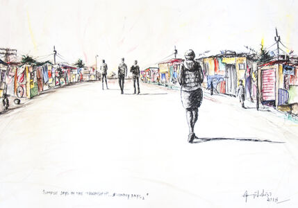Semi Lubisi, 'Simple Day In The Township'