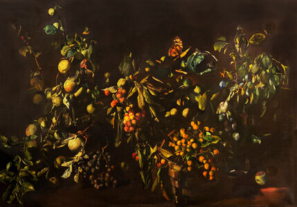 Tibor Csernus, 'Still Life with Fruits and Butterfly', 1984