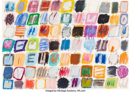 Ida Kohlmeyer, 'Untitled, Cluster Series', 1975