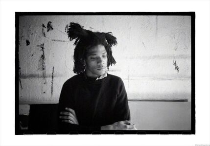 Roland Hagenberg, 'Basquiat, melancholic, New York, 1983', 1983