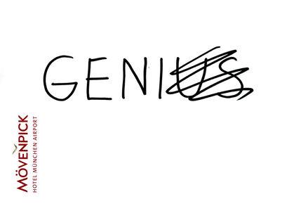Dan Perjovschi, 'Mövenpick Drawings (Genius)', 2018