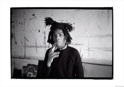 Roland Hagenberg, 'Basquiat smoking, New York, 1983', 1983