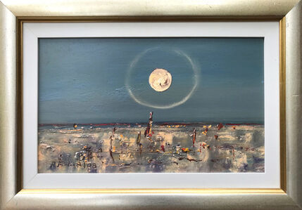 Robert Fisher, 'Outback Moon William Creek'