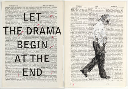 William Kentridge, 'Second Hand Reading', 2013