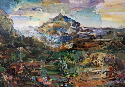 KÜHNE / KLEIN, 'Painting some Mountains', 2012