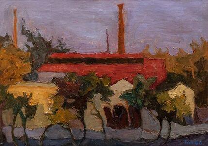 Toti Scialoja, 'The factory', 1946