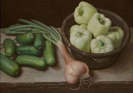 Doug Safranek, 'White Peppers, Gherkins, and a Shallot', 2015