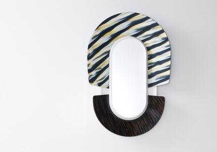 """Jean-Baptiste Fastrez, '""""Dogon"""" Mask Mirror', 2012"""